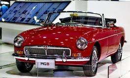 SAIC Motor-CP displays a MGB  Royalty Free Stock Photo