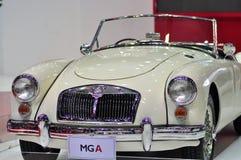 SAIC MOTOR-CP zeigt ein MGA an der 30. internationalen Bewegungsausstellung 2013 an Stockbild