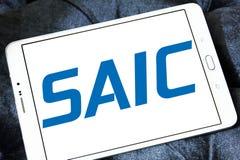SAIC, Science Applications International Corporation logo. Logo of SAIC, Science Applications International Corporation on samsung tablet. SAIC is an American Stock Photo