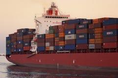 ΛΙΜΕΝΑΣ SAID/EGYPT στις 2 Ιανουαρίου 2007 - το σκάφος εμπορευματοκιβωτίων Νέο Δελχί στοκ εικόνες με δικαίωμα ελεύθερης χρήσης