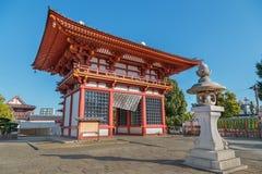 Saidaimon at Shitennoji Temple in Osaka, Japan Royalty Free Stock Photo