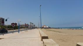 Saidia plaża, Morocco obrazy royalty free