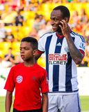 Saido Berahino, West Bromwich Albion Royalty Free Stock Image