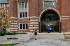 Saieh Hall на UChicago Стоковые Изображения