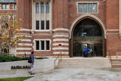 Saieh Hall at UChicago Royalty Free Stock Images