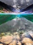 Saif-UL-malook del lago Fotos de archivo libres de regalías