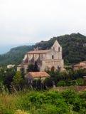 Saignon - France sul fotografia de stock