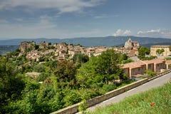 Saignon - Luberon - Provence - Frankrike Royaltyfri Fotografi