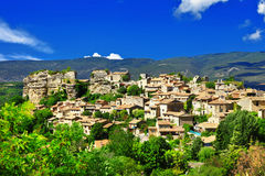Saignon village, Provence, France Stock Photos