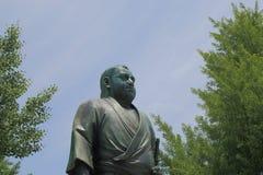 Saigo Takamori stature Ueno Tokyo Royalty Free Stock Photo