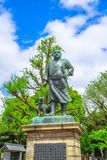 Saigo Takamori Ueno Park royalty free stock images