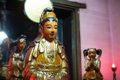 saigon寺庙 免版税图库摄影