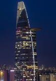 SAIGON, am 25. August 2013 - BITEXCO auf blauem Himmel Lizenzfreies Stockbild
