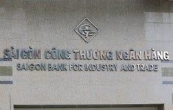 Saigon bank dla przemysłu Wietnam i handlu Obraz Royalty Free