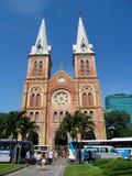 Saigon bazylika Notre-Dame obrazy royalty free