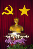 SAIGON Bust of Ho Chi Minh Stock Photo