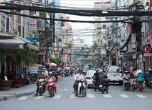 Saigon, céntrico Foto de archivo libre de regalías