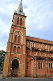 Saigon Catholic church, VietNam Royalty Free Stock Photo