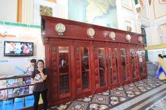 Saigon Central Post Office Stock Photography