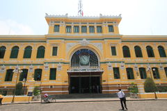 Saigon Central Post Office Royalty Free Stock Image