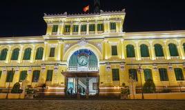 Saigon Central Post Office Stock Photo