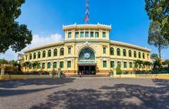 Saigon Central Post Office, Hochiminh. Saigon Central Post Office is a post office in the downtown Ho Chi Minh City or Saigon in Vietnam stock images