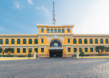 Saigon Central Post Office, in Vietnam Stock Photos