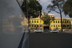 Saigon central stolpe - kontor - kontor för posr för Ho Chi Minh stad centralt Royaltyfri Bild