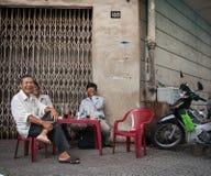 Saigon, Chi Ho ελάχιστη πόλη Στοκ Εικόνες