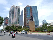Saigon city Stock Photography