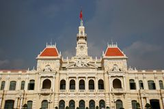 Saigon City Hall Stock Image