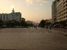 Saigon-Dämmerung Stockbild