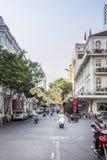 Saigon, Don Khoi street Royalty Free Stock Photo
