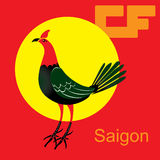 The Saigon. Royalty Free Stock Images