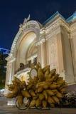 Saigon ex de Ho Chi Minh City, teatro da ópera imagem de stock royalty free