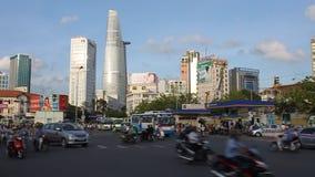 Saigon (Ho Chi Minh City) almacen de metraje de vídeo