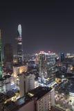 Saigon nachts (Ho Chi Minh City) Stockbilder