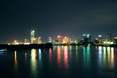 Saigon night Stock Image