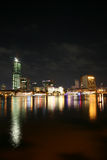 Saigon night Royalty Free Stock Images
