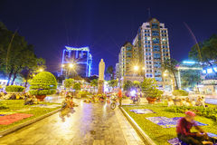 Saigon by Night Stock Photography