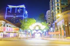 Saigon by Night Stock Image