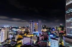 Saigon Night Royalty Free Stock Photos