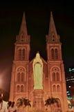 Saigon Notre-Dame Basilica Cathedral, Vietnam Stock Images