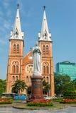 Saigon Notre Dame Basilica en Ho Chi Minh City photographie stock libre de droits