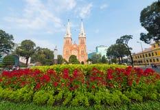 Saigon Notre Dame Basilica, Ho Chi Minh City Imágenes de archivo libres de regalías