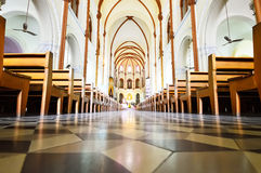 Saigon Notre-Dame Basilica in Ho Chi Minh Stock Photo