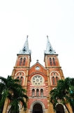 Saigon Notre-Dame Basilica in Ho Chi Minh Royalty Free Stock Images