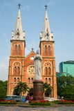 Saigon Notre Dame Basilica in Ho Chi Minh City Royalty Free Stock Photos