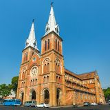 Saigon Notre Dame Basilica in Ho Chi Minh City Stock Photo