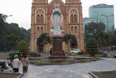 Saigon Notre-Dame Basilica Royalty Free Stock Photo